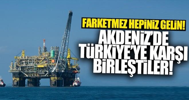 Türkiye'ye karşı birleştiler!