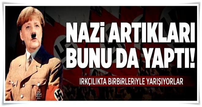 Almanya'da Nazi ruhu hortladı. .
