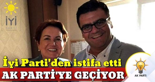 İyi Parti'den istifa eden Tamer Akkal AK Parti'ye geçiyor .
