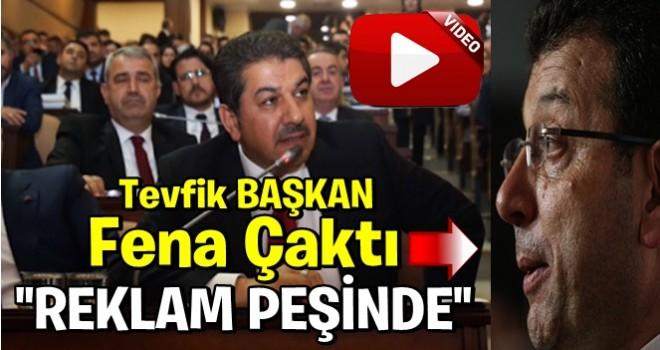 Esenler Belediye Başkanı Tevfik Göksu'dan, İBB'ye tepki!