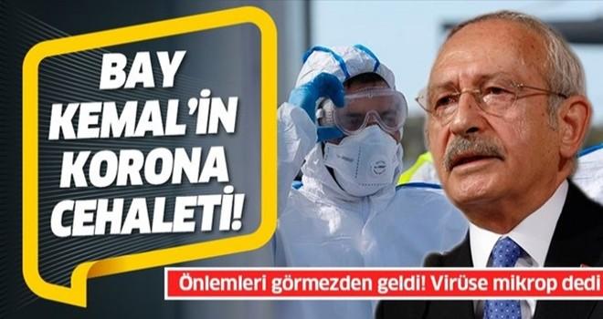 Kemal Kılıçdaroğlu'nun Kovid-19 cehaleti: Virüsten mikrop diye bahsetti
