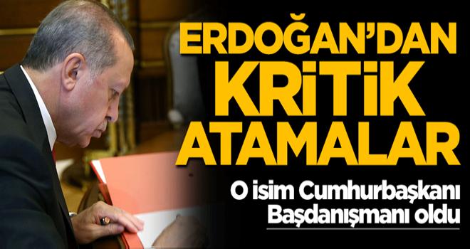 Cumhurbaşkanı Erdoğan'dan kritik atamalar! Resmi Gazete'de yayımlandı