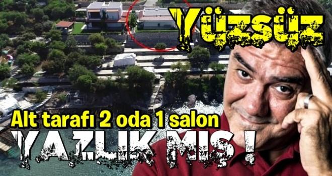 Yılmaz Özdil'den 'kaçak villa'ya akılalmaz savunma! Resmen alay etti