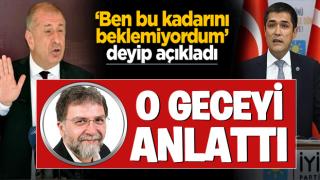 Ahmet Hakan, Ümit Özdağ'ın gündemi sarsan açıklamalarının arka planını açıkladı