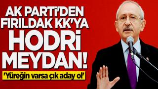 AK Partili isimden Kılıçdaroğlu'na hodri meydan: Çıkıp aday ol