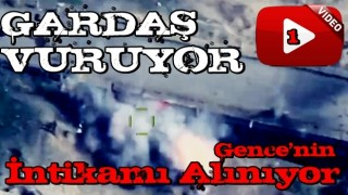 Alçak saldırı sonrası Azerbaycan Ermenistan hedeflerini tek tek yok etti! İşte o anlar .