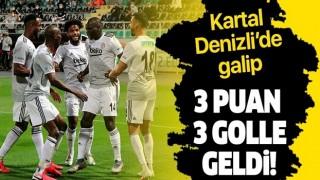 Beşiktaş,nefes aldı..