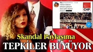 CHP Isparta İl Gençlik Kolları Başkan Yardımcısı İlayda Kılınç'ın skandal paylaşımına tepkiler büyüyor .
