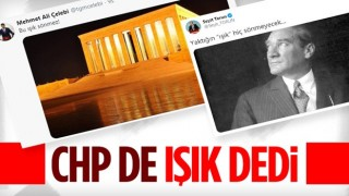 CHP'den 'ışıklar yanıyor' paylaşımı