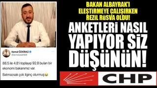 CHP'nin Anketçisi Kemal Özkiraz rezil rüsva oldu!