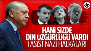 Cumhurbaşkanı Erdoğan: Siz Nazi'nin zincir halkalarısınız