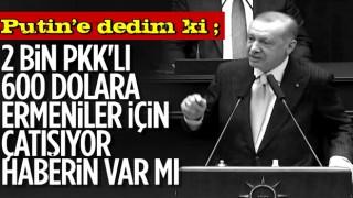 Cumhurbaşkanı Erdoğan, Vladimir Putin ile görüşmesinin detaylarını anlattı