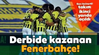 Derbide Fenerbahçe ikinci yarıda açıldı! Fenerbahçe 3-1 Trabzonspor