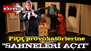 Ekrem İ.'ye Mezopotamya Kültür Merkezi tepkisi! PKK provokatörlerine sahneleri açtı...
