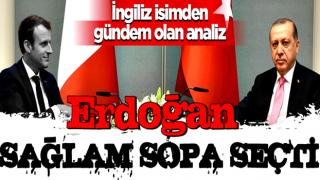 Erdoğan ve Macron arasındaki gerginlik sonrası İngiliz basınının analizi gündem oldu