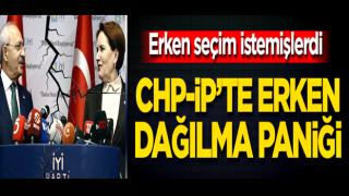 Erken seçim istemişlerdi! CHP-İP'te erken dağılma paniği