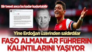 Faşo Almanlar yine Erdoğan üzerinden Mesut Özil'e saldırdılar