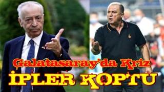 Galatasaray'da büyük kriz! Fatih Terim ve yönetim arasında ipler koptu