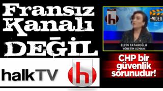 Halk TV'de skandal yayın! Macron ve Merkel'i koruyup Başkan Erdoğan'ı suçladı .