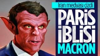İran medyasından Macron'a sert tepki