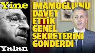 """İstanbul Valiliği, Kılıçdaroğlu'nun """"İmamoğlu toplantıya çağrılmadı"""" iddialarını yalanladı"""