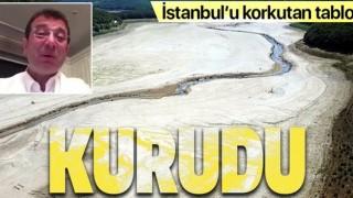 İstanbul'u korkutan haber! Kazandere ve Pabuçdere barajları kurudu