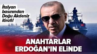 İtalyan basınından Doğu Akdeniz itirafı! Anahtarlar Başkan Erdoğan'ın elinde .