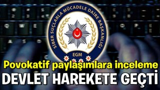 İzmir'deki deprem sonrası sosyal medyadaki provokatif paylaşımlara inceleme