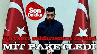 Kayseri saldırısının faili yakalandı! PKK'lı Ferhat Tekiner MİT'in operasyonuyla Irak'tan Türkiye'ye getirildi.