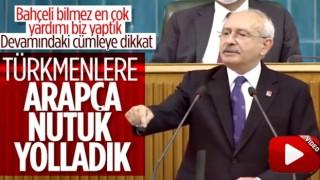 """Kılıçdaroğlu'nun """"yardım"""" açıklaması sosyal medyayı salladı: """"Türkmenlere Arapça Nutuk gönderdik"""""""