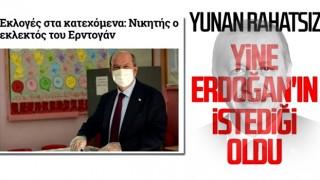 KKTC seçimleri Yunan basınında