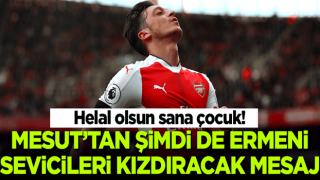 Mesut Özil'den Azerbaycan'a destek: 'Tek devlet iki millet' paylaşımı