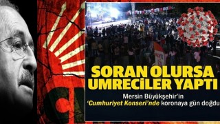 Murat Dalkılıç konserinde sosyal mesafe kuralına uyan olmadı