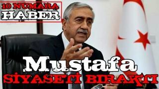 AB ve Rum aşığı Mustafa Akıncı siyaseti bıraktı