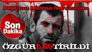 PKK'nın sözde Metina istihbarat sorumlusu Ahmet Bal etkisiz hale getirildi.