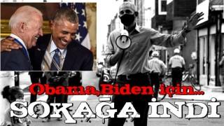 Seçimlerde son viraj! Barack Obama megafonla sahaya indi.