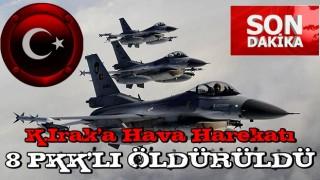 SON DAKİKA: Irak'ın kuzeyine hava harekatı! PKK'ya bir darbe daha