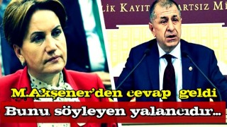 Son dakika: Meral Akşener'den Ümit Özdağ'a çok sert tepki: Bunu söyleyen yalancıdır...