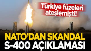 Türkiye füzeleri ateşlemesi sonrası NATO'dan skandal S-400 açıklaması