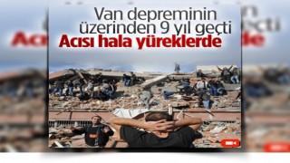 Van depreminde enkazdan çıkarılanlar yaşadıklarını unutamıyor