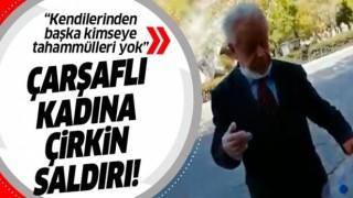 28 Şubat zihniyeti hortladı! Konya'da peçeli ve çarşaflı kadına çirkin saldırı!