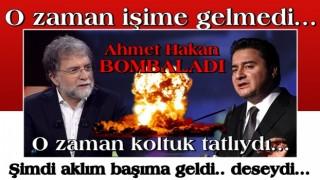 Ahmet Hakan Ali Babacan'ı bombaladı! 'Eğer bunları deseydi…'