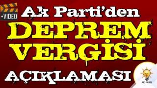 AK Parti Grup Başkanvekili Cahit Özkan'dan 'Deprem vergileri' açıklaması