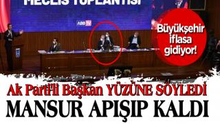 AK Parti Mamak Belediye Başkanı Murat Köse'den CHP'li Mansur Yavaş'a bütçe tepkisi!