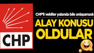 Alay konusu oldular! CHP'li vekiller yalanda bile anlaşamadı