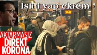 Altunizade metrobüs durağında yoğunluk: Tıkış tıkış gittiler