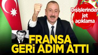 Azerbaycan nota verince Fransa geri adım attı