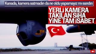Bayraktar TB2 SİHA bu kez yerli kamera ile vurdu