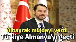 Berat Albayrak müjdeyi verdi! Türkiye Almanya'yı geçti!