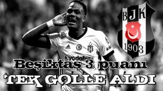 Beşiktaş tek attı 3 aldı